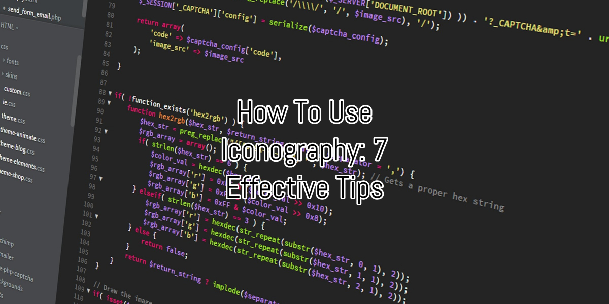How To Use Iconography: 7 Effective Tips